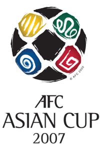 Póster oficial de la Copa Asiática 2007