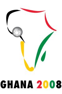 Poster ufficiale della Coppa d'Africa 2008