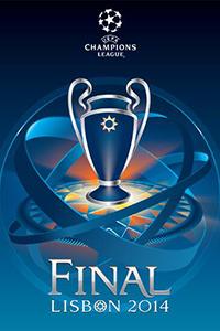 Cartaz oficial de die Champions League 2013-14