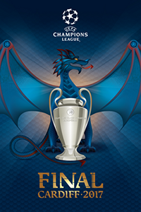 Cartaz oficial de die Champions League 2016-17