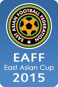 Poster ufficiale della Coppa d'Asia Orientale 2015