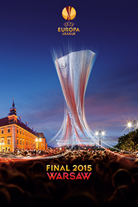Cartaz oficial de die Europa League 2014-15