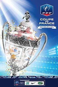 Cartaz oficial de die Coupe de France 2014-15