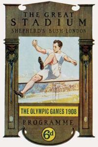 Poster ufficiale dei Giochi olimpici 1908
