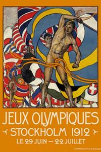 Cartaz oficial dos Jogos Olímpicos de 1912