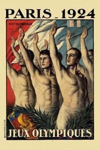 Poster ufficiale dei Giochi olimpici 1924