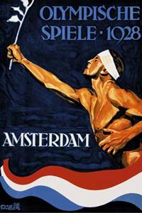 Poster ufficiale dei Giochi olimpici 1928