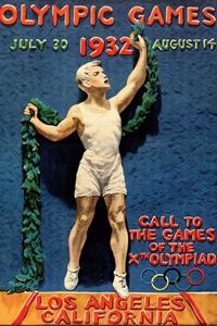 Poster ufficiale dei Giochi olimpici 1932