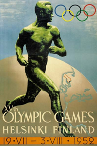 Poster ufficiale dei Giochi olimpici 1952