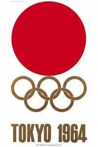 Poster ufficiale dei Giochi olimpici 1964