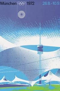 Poster ufficiale dei Giochi olimpici 1972