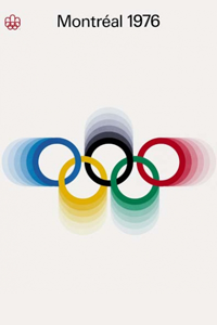 1976 Olympics Poster