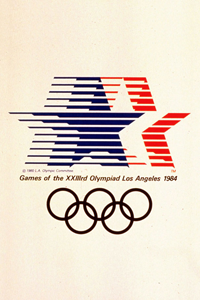 1984 Olympics Poster