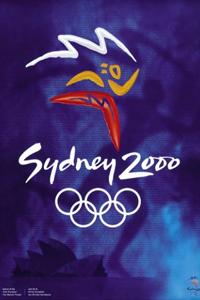 Poster ufficiale dei Giochi olimpici 2000