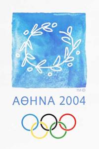 Poster ufficiale dei Giochi olimpici 2004