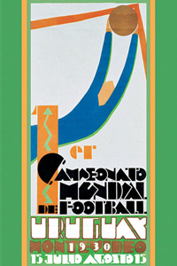 Cartaz oficial da Copa do Mundo 1930