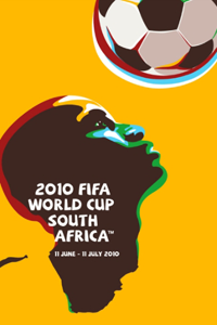 Póster oficial del Mundial 2010