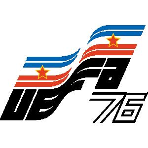 Póster oficial de la Eurocopa 1976