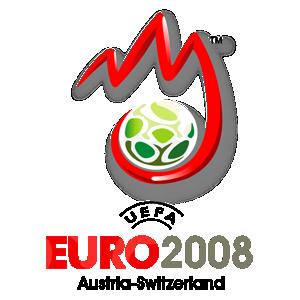 Poster ufficiale degli Europei 2008