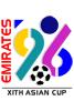 1996年阿联酋亚洲杯海报