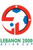 2000年黎巴嫩亚洲杯海报