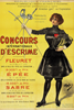 Jeux Olympiques poster