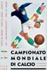 1934年意大利世界杯海报