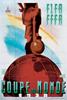 1938年法国世界杯海报