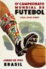 1950年巴西世界杯海报