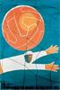 1954年瑞士世界杯海报