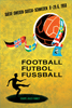 1958年瑞典世界杯海报