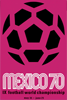 1970年墨西哥世界杯海报