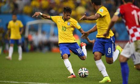 WM 2014 : Brasilien Kroatien