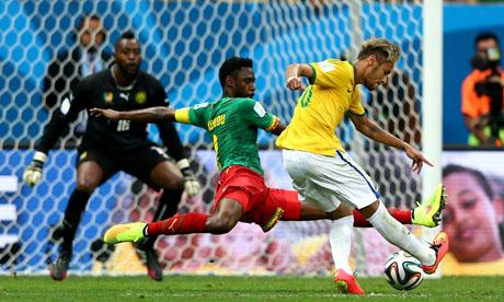 WM 2014 : Kamerun Brasilien