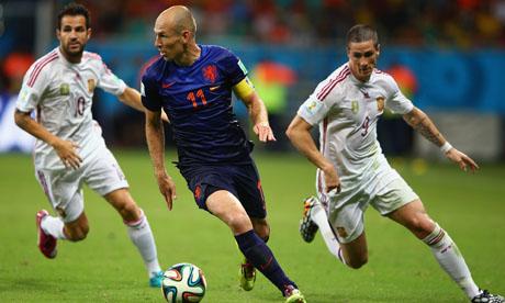 WM 2014 : Spanien Niederlande