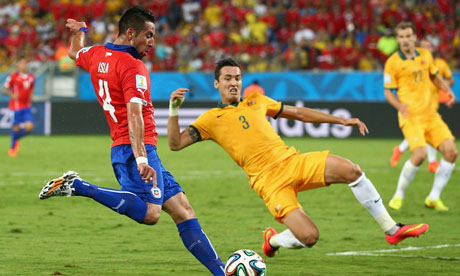 WM 2014 : Chile Australien