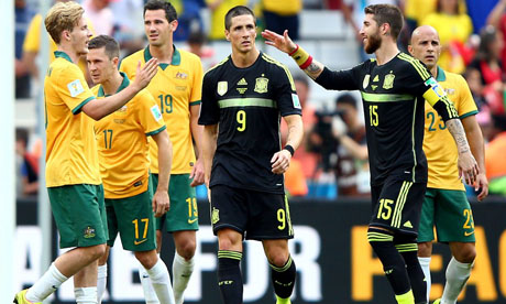 WM 2014 : Australien Spanien