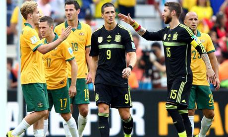 FIFA World Cup 2014 : Australia Spain