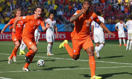 FIFA World Cup 2014 : Netherlands Chile