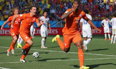 WM 2014 : Niederlande Chile