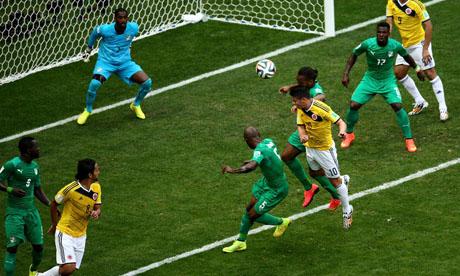 WM 2014 : Kolumbien Elfenbeinküste