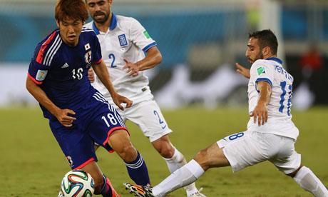 WM 2014 : Japan Griechenland