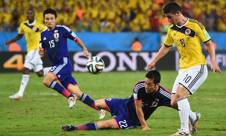 WM 2014 : Japan Kolumbien