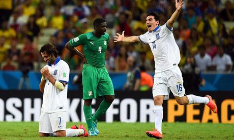 WM 2014 : Griechenland - Elfenbeinküste