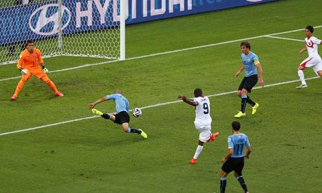 FIFA World Cup 2014 : Uruguay Costa Rica