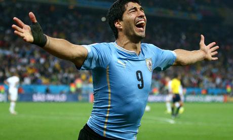 WM 2014 : Uruguay England
