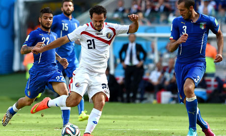 FIFA World Cup 2014 : Italy Costa Rica