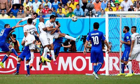 Copa Mundial de Fútbol 2014 : Italia - Uruguay