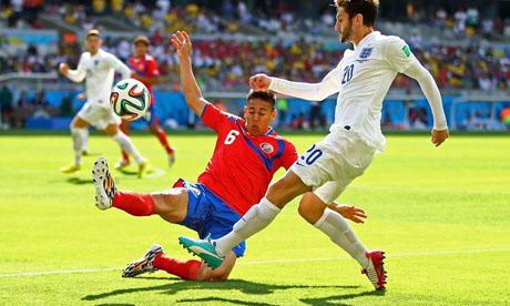 WM 2014 : Costa Rica England
