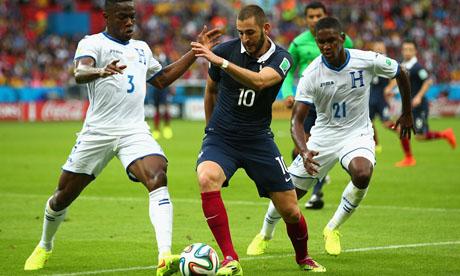 WM 2014 : Frankreich Honduras
